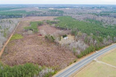 Amelia County Residential Lots & Land For Sale: Military Road