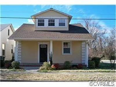Richmond Single Family Home For Sale: 1503 Call