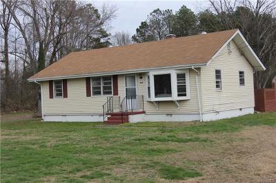 Richmond Single Family Home For Sale: 515 East Cedar Fork Road