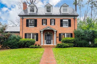 Richmond Single Family Home For Sale: 6410 Roselawn Road