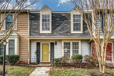 Henrico Single Family Home For Sale: 1850 Cedar Hollow Court