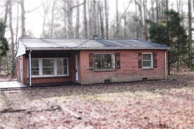 Chester Single Family Home For Sale: 16022 Harrowgate Road
