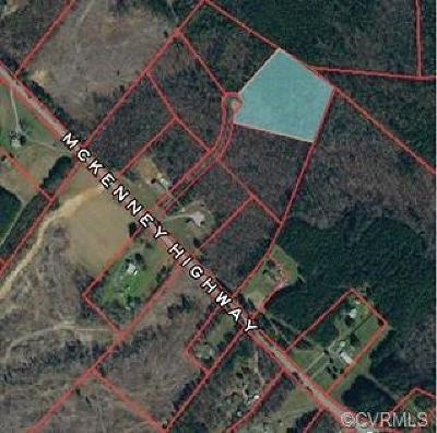 Dinwiddie Land For Sale: Tbd McKenney Hwy.