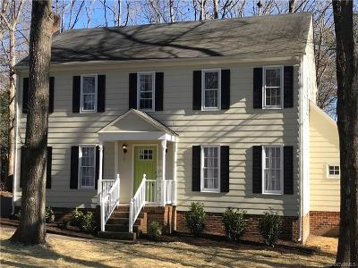 Midlothian Single Family Home For Sale: 707 Watch Hill Road