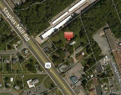 Henrico Commercial For Sale: 7617 Staples Mill Road