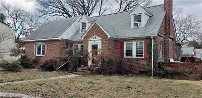 South Chesterfield Single Family Home For Sale: 5900 River Road