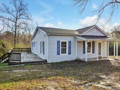 Powhatan VA Single Family Home For Sale: $184,950