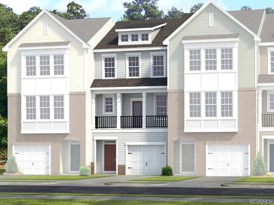 Chester Condo/Townhouse For Sale: 6212 West Stonepath Garden Drive #Lot 051