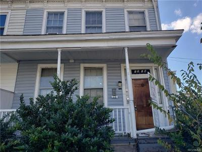 Richmond Single Family Home For Sale: 1319 West Leigh Street