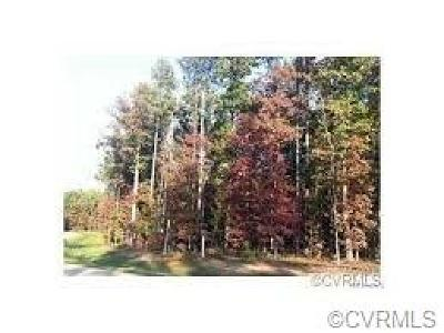 Chesterfield County Residential Lots & Land For Sale: 13419 River Otter Road