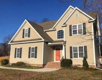 Colonial Heights VA Single Family Home For Sale: $335,000