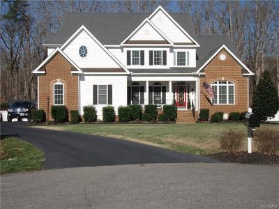 Colonial Heights Single Family Home For Sale: 14500 Walthall Crest Lane