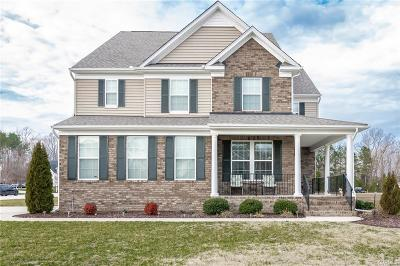 Dinwiddie Single Family Home For Sale: 1601 Astwood Cove Drive