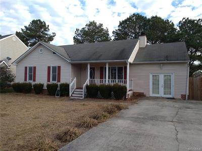 Chesterfield Single Family Home For Sale: 7417 Pineleaf Drive