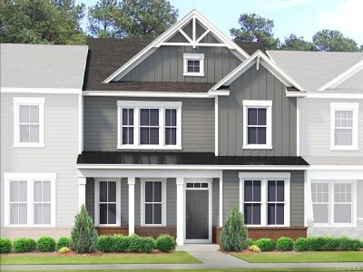 Glen Allen Condo/Townhouse For Sale: 4001 Tin Roof Way #Lot 17