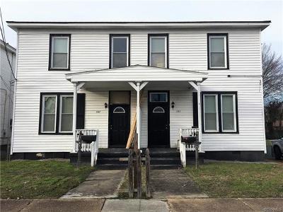 Petersburg Multi Family Home For Sale: 1145 Farmer Street