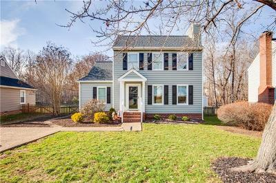Henrico Single Family Home For Sale: 10418 Gibsons Landing Drive