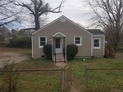 Henrico Single Family Home For Sale: 1801 Buckner Street