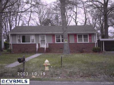 Single Family Home For Sale: 2525 Deerfield Drive