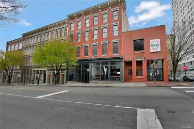 Richmond Condo/Townhouse For Sale: 1205 East Main Street #3W