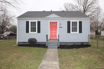 Richmond Single Family Home For Sale: 2705 Southgate Street