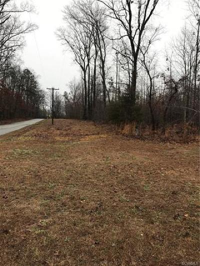 Nottoway County Residential Lots & Land For Sale: Jenningstown Rd