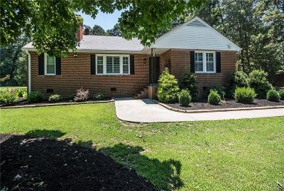 Henrico Single Family Home For Sale: 11321 Church Road