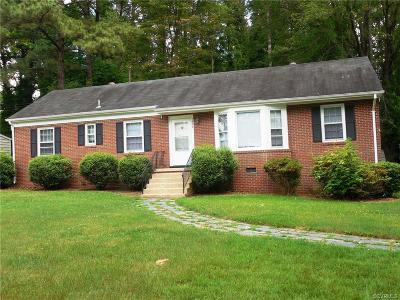 Henrico Rental For Rent: 1807 Briardale Lane