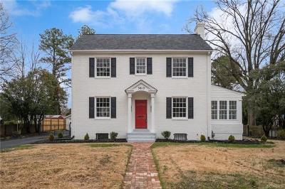 Richmond Single Family Home For Sale: 3813 Noble Avenue