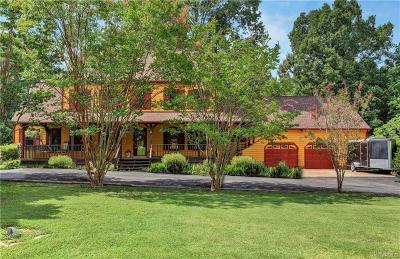 Chesterfield Single Family Home For Sale: 15100 Beach Road