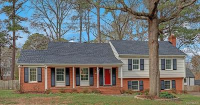 Henrico Single Family Home For Sale: 1512 Chauncey Lane