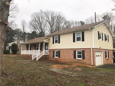 Chesterfield County Rental For Rent: 1400 Courthouse Road