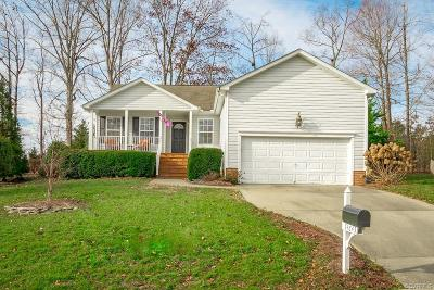 Midlothian Single Family Home For Sale: 14643 Holding Pond Court