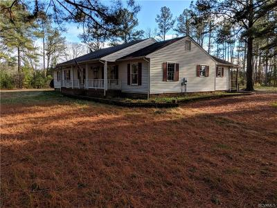 Hanover County Single Family Home For Sale: 11449 Mount Hope Church Road