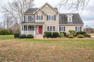 Powhatan County Single Family Home For Sale: 3677 Old Buckingham Road