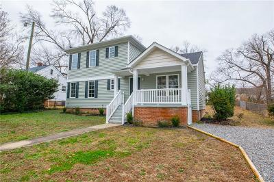 Henrico Single Family Home For Sale: 2427 Swartwout Avenue