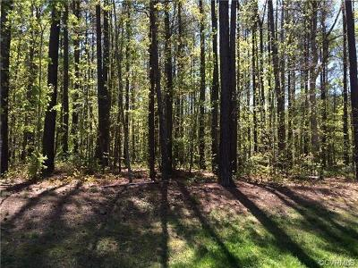 Chesterfield County Residential Lots & Land For Sale: 13437 River Otter Road