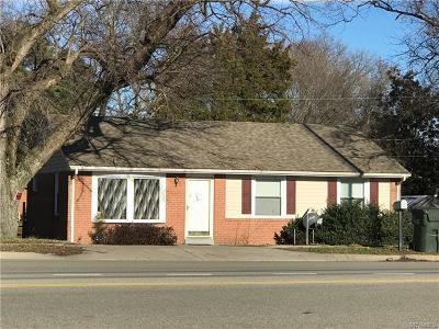 Richmond Single Family Home For Sale: 3824 Walmsley Boulevard