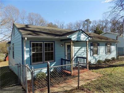 Chester Single Family Home For Sale: 15907 Gary Avenue