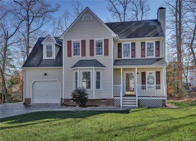 Chesterfield County Single Family Home For Sale: 3813 Sherwood Forest Terrace