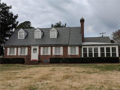 Richmond Single Family Home For Sale: 5914 Chamberlayne Road