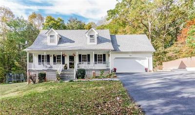 Powhatan Single Family Home For Sale: 2509 George Road
