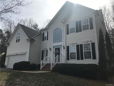 Mechanicsville VA Single Family Home For Sale: $429,000
