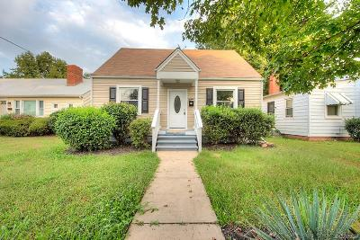 Richmond Single Family Home For Sale: 2817 Groveland Avenue