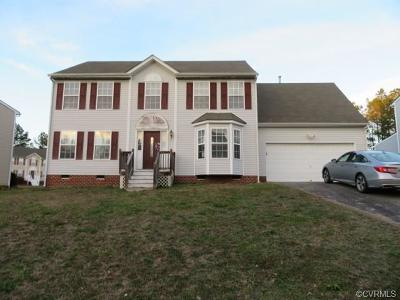 Chesterfield VA Single Family Home For Sale: $193,483