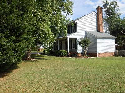 Mechanicsville Single Family Home For Sale: 7127 Spicewood Drive