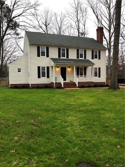 Henrico Single Family Home For Sale: 2400 Mundy Court