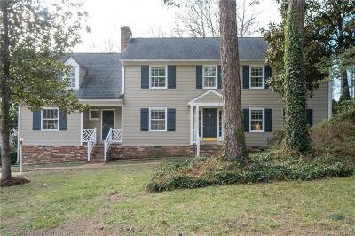 Henrico Single Family Home For Sale: 1902 Hickoryridge Road