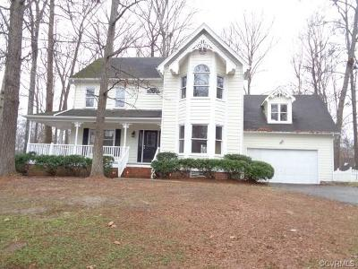 Chesterfield Single Family Home For Sale: 13828 Sandy Oak Road