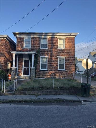 Petersburg Single Family Home For Sale: 711 Harding Street
